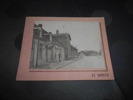 6554 - CPSM , WAILLY , Station Service , Café,Brasserie - France