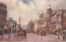 """""""Charles E. Flower. London.Whitehall & New War Office"""" Tuck Oilette Postard # 7940 - Tuck, Raphael"""
