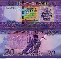 SOLOMON IS.         20 Dollars       P-34        ND (2017)       UNC  [ Sign. 11 ] - Salomons