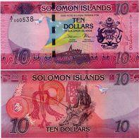 SOLOMON IS.         10 Dollars       P-33       ND (2017)       UNC  [ Sign. 11 ] - Salomonseilanden