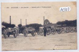 BOURGES- AU QUARTIER- BATTERIE PRETE A L EMBARQUEMENT - Bourges