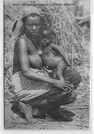 SOUDAN : Femme Malinké - Etat - Soudan