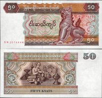Myanmar 1994 - 50 Kyat - Pick 73 UNC - Myanmar