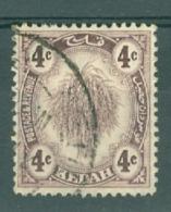 Malaya - Kedah: 1922-40   Sheaf Of Rice     SG54    4c      Used - Kedah