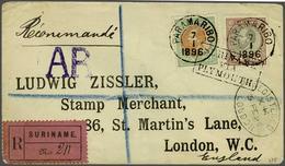 89 Surinam - Stamps