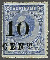100 Surinam - Stamps