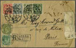 739 China Post In Tibet - China