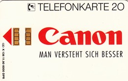 GERMANY -  Canon Fax L770 - Der Laser-Champion, K 0136-11/90 , 6.000 Tirage ,used - Duitsland