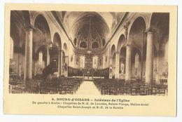 38 Isère Bourg D'oisans Intérieur De L'église  Ed Mollaret Grenoble - Bourg-d'Oisans