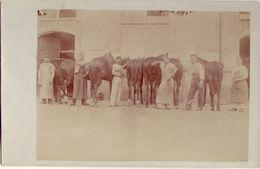 41 VENDOME  Chevaux, Militaires 22 Avril 1906 - Vendome