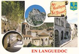 34 SAINT GUILHEM LE DESERT / MULTIVUES / BLASON - France
