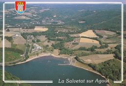 34 LA SALVETAT / VUE AERIENNE / BLASON - La Salvetat