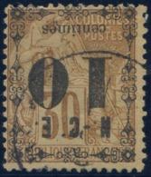 Nouvelle Caledonie - N°12a - Surcharge Renversée - Cote 22€ - (C104) - Gebraucht