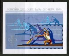 POLAND  Scott # B 138 VF USED Souvenir Sheet SS-73 - Blocks & Sheetlets & Panes