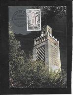 CT / CAD  TLEMCEN  ALGERIE - Postmark Collection (Covers)
