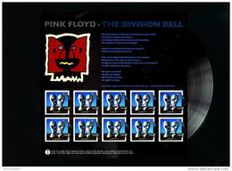 GREAT BRITAIN - 2010  PINK FLOYD   MS MINT NH - Blocs-feuillets