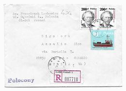 EDB404  - POLONIA , Lettera  Del 1989 - 1944-.... Repubblica