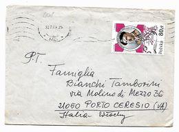 EDB408  - POLONIA , Lettera  Del 1989 - 1944-.... Repubblica