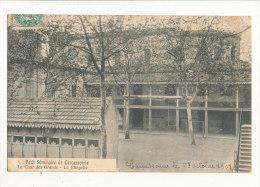 11 CARCASSONNE PETIT SEMINAIRE  LA COUR DES GRANDS LA CHAPELLE CPA BON ETAT - Carcassonne