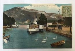 Lac D'annecy. Le Port Et Le Mont Veyrier - Annecy