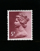 GREAT BRITAIN - 1982  MACHIN   5p. PERF. 15x14  MINT NH  SG X1004a - 1952-.... (Elisabeth II.)