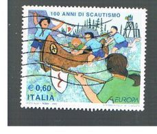 ITALIA REPUBBLICA  - UNIF. 3014   -   2007 EUROPA: SCOUT    - USATO - 1946-.. République