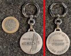 AUGIS Porte-clé Ancien NEUF Engrais ARC (Cie RICHIER) Aubervilliers Le Mans Nangis Puiseaux - Key-rings