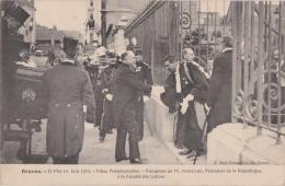 Bn - Cpa RENNES - Fêtes Présidentielles - Réception De M. POINCARE à La Faculté Des Lettres - 31 Mai 1 Juin 1914 - Rennes