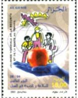 Ref. 184273 * MNH * - ALGERIA. 2005. DIA MUNDIAL DE LA SEGURIDAD Y SANIDAD EN EL TRABAJO - Obst & Früchte
