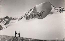 AK Schrankogel Wilde Leck Amberger Hütte Ambergerhütte Stempel Gletscher Gries Sulztal Tirol Österreich Austria Autriche - Längenfeld