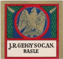 Chromo-réclame J. R. GEIGY SOC. AN. BASLE - Aigle - Chimie - Publicités