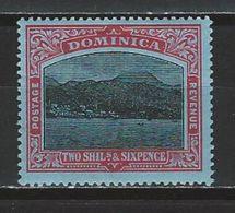 Dominica SG 53c, Mi 49 * MH - Dominique (...-1978)