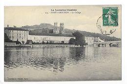 PONT à MOUSSON  (cpa 54)  Le Collège  - L 1 - Pont A Mousson