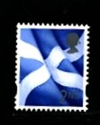 GREAT BRITAIN - 2012  REGIONAL  2nd CLASS SCOTLAND FLAG CB LITHO  MINT NH - Regionali