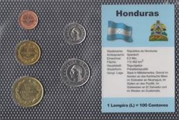 Honduras Stgl./unzirkuliert Kursmünzen Stgl./unzirkuliert 1991-1996 1 Centavo Bis 50 Centavos (9146536 - Honduras