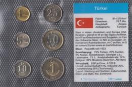Türkei Stgl./unzirkuliert Kursmünzen Stgl./unzirkuliert 2005-2007 1 Yeni Kurus Bis 1 Yeni Lira (9146518 - Türkei