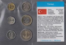 Türkei Stgl./unzirkuliert Kursmünzen Stgl./unzirkuliert 2005-2007 1 Yeni Kurus Bis 1 Yeni Lira (9146519 - Türkei