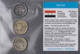 Syrien 2003 Stgl./unzirkuliert Kursmünzen 2003 5 Piaster Bis 25 Piaster (9146514 - Syrien