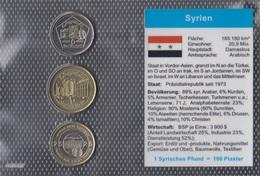 Syrien 2003 Stgl./unzirkuliert Kursmünzen 2003 5 Piaster Bis 25 Piaster (9146513 - Syrien