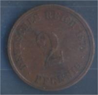 Deutsches Reich Jägernr: 2 1874 C Sehr Schön Bronze 1874 2 Pfennig Kleiner Reichsadler (7849167 - [ 2] 1871-1918: Deutsches Kaiserreich