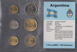 Argentinien Stgl./unzirkuliert Kursmünzen Stgl./unzirkuliert 1992-2009 1 Centavo Bis 1 Peso (9146533 - Central America