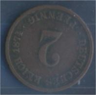 Deutsches Reich Jägernr: 2 1874 C Sehr Schön Bronze 1874 2 Pfennig Kleiner Reichsadler (7849168 - [ 2] 1871-1918: Deutsches Kaiserreich