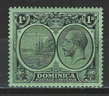 Dominica SG 83, Mi 80 * MH - Dominique (...-1978)