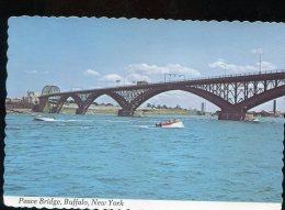 CPM Neuve Etats Unis NEW YORK Peace Bridge Buffalo - Buffalo