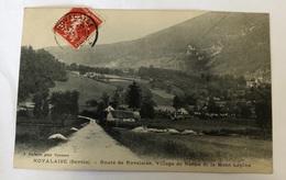 Novalaise. Route De Novalaise. Village De Nance Et Le Mont Lepine. Vialatte. Oyonnax - Francia