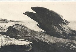 2701. QUIBERON . POINTE DE BEG ER VIL . LE ROCHER DE L'AIGLE . NON ECRITE - Quiberon