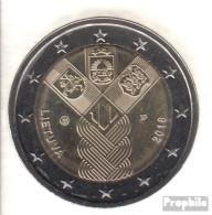 Litauen 2018 Stgl./unzirkuliert Auflage: 1 Mio. Stgl./unzirkuliert 2018 2 Euro 100 Jahre Unabhängigkeit - Litauen