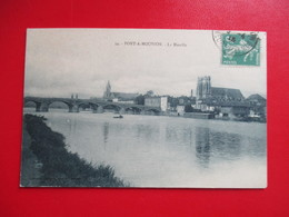 CPA 54 PONT A MOUSSON LA MOSELLE - Pont A Mousson