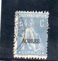 AZORES 1923-6 O - Azores