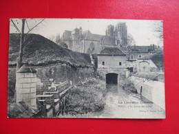 CPA 54 TOUL LA SORTIE DES EAUX - Pont A Mousson